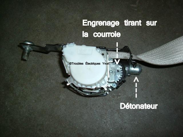 Mise au rebut d'un prétensionneur de ceinture (airbag) Dscf1216
