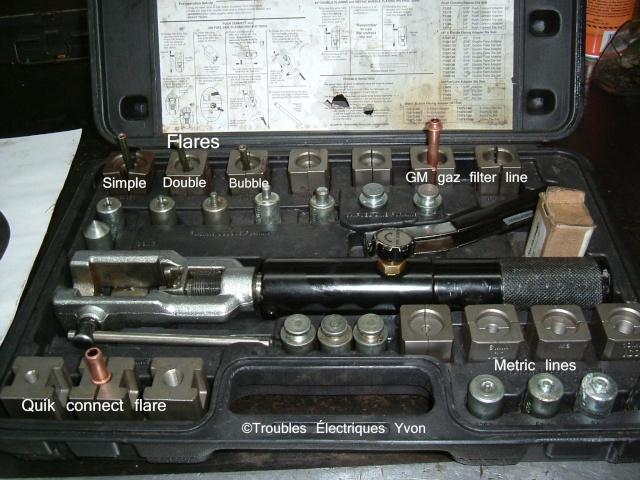 Outil pour faire des flares de freins et essence, Masterlcool brake and gas line flairing tool Dscf1312