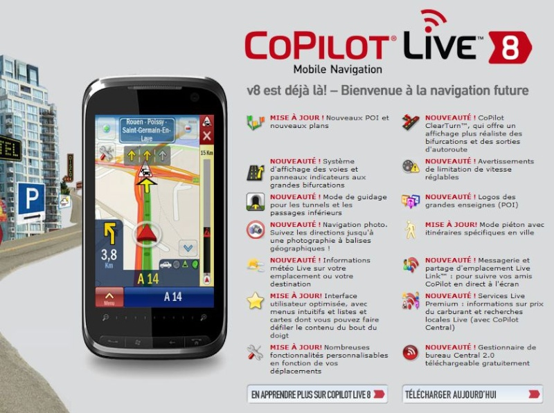 COPILOT Live v8 - Nouvelle version Captur31