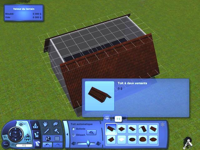 [Débutant] Construire une mansarde. 0711