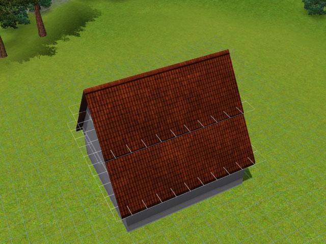 [Débutant] Construire une mansarde. 0810