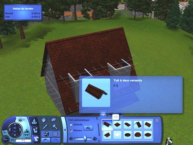 [Débutant] Construire une mansarde. 1210