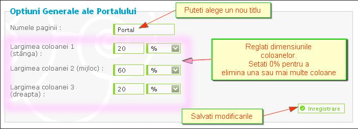Instalarea si configurarea portalului 06901810