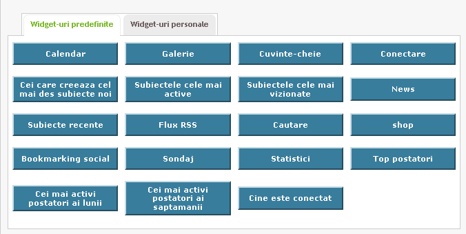 Widgeturi (module) predefinite 30687610