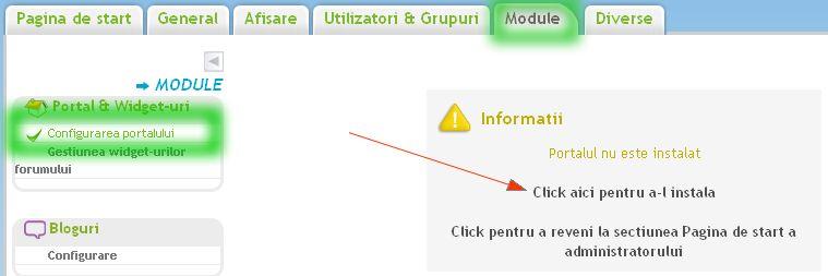 Instalarea si configurarea portalului 69661310