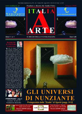 """NUNZIANTE IN COPERTINA SU """"ITALIA ARTE"""" Arte_i10"""