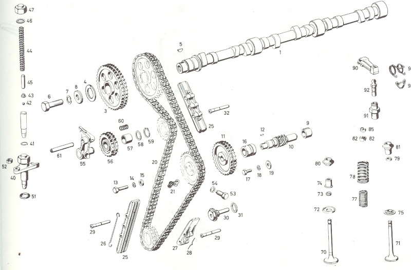 tension chaine transmission Distri10