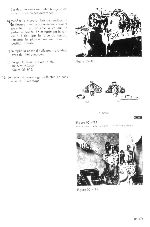 tension chaine transmission Pignon10