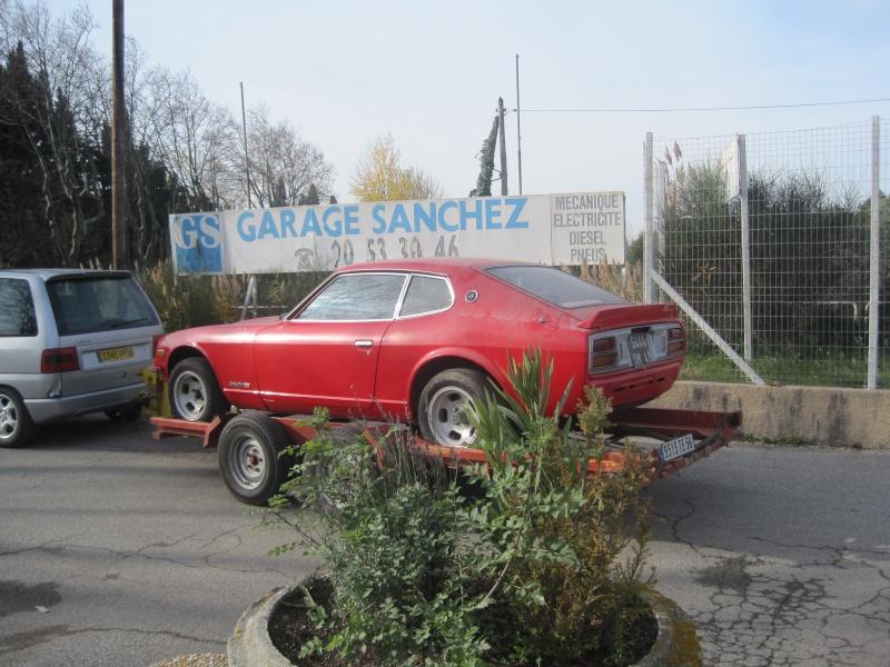260Z chez BREIZH DATSUN GARAGE 04510