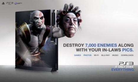 PS3 The God of War God-of10