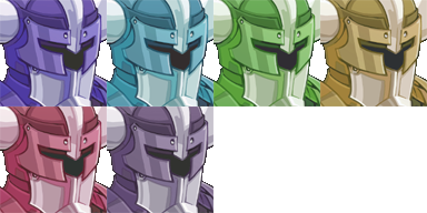 Chevalier (RTP) et ses armures . Evil210