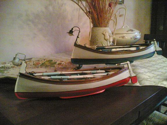gozzo - Realizzazione di un Gozzo Ligure. Flotta11