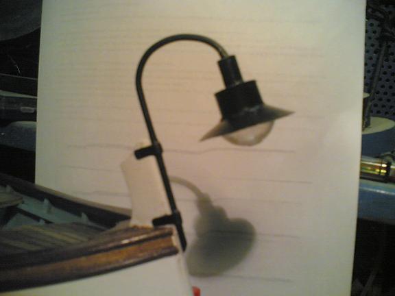 Autocostruirsi una lampara. Lampar10