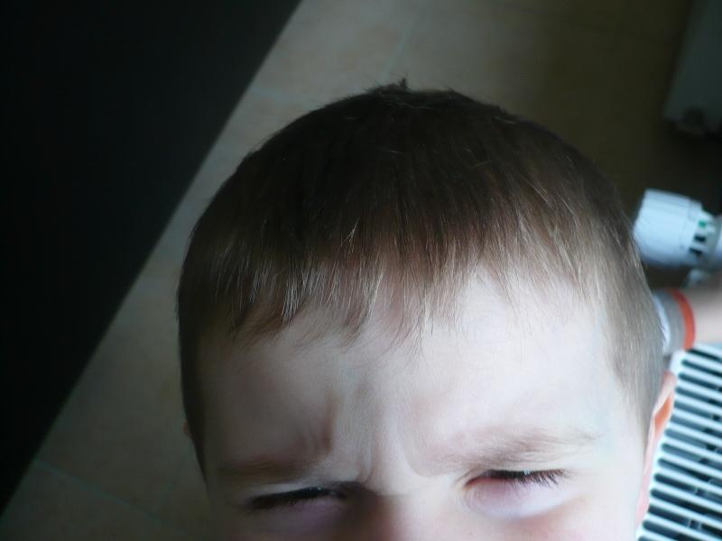 coupe cheveux de mon fils P1150610
