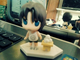 [SELLER] anime/game figures (gundam 00, gintama, disgaea) + stuff 20130116