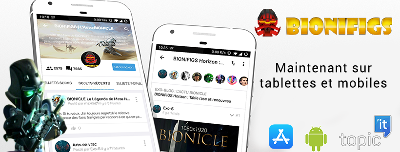 BIONIFIGS maintenant disponible sur tablettes et mobiles Topici11