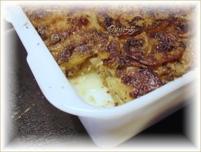 Escaloppe de pommes de terre aux champignons Bonne10