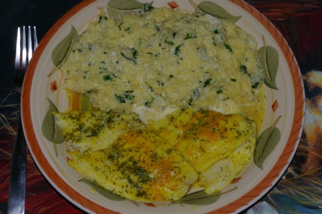 Courge spaghetti aux fines herbes Filets11