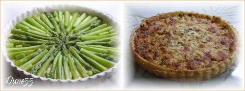 Tarte feuilletée aux asperges et au Gruyère  Oie_ca10