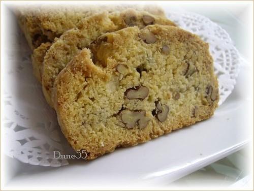 Biscottis à l'érable et aux pacanes : offerte par Mabelle (Ricardo) Pict6915