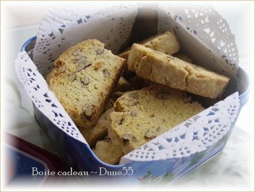 Biscottis à l'érable et aux pacanes : offerte par Mabelle (Ricardo) Pict7011