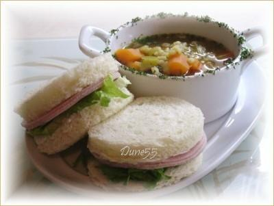 Soupe orge et légumes Soupe10