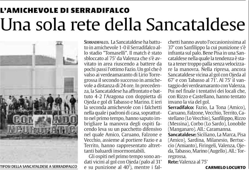 Amichevole Sancataldese - Serradifalco Scsdf210