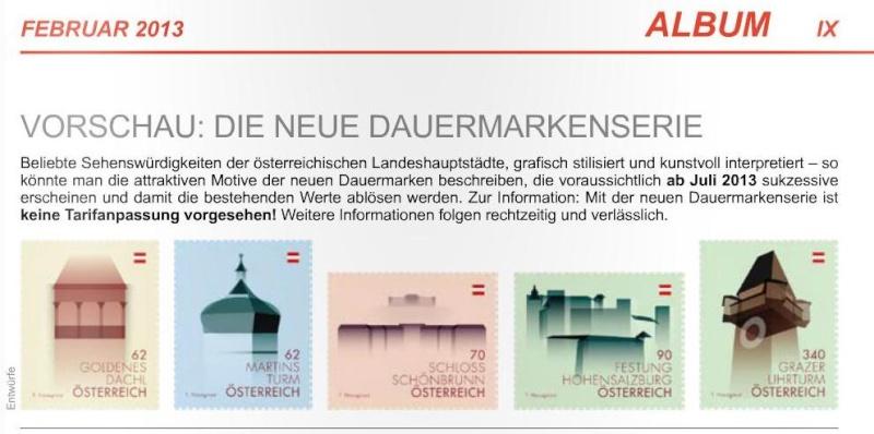Neue österreichische Dauermarkenserie/Wahrzeichen Neue_d10