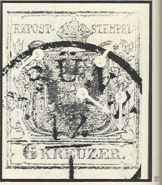 6 Kreuzer 1850 Type Ib : Abart ?  6_kreu11