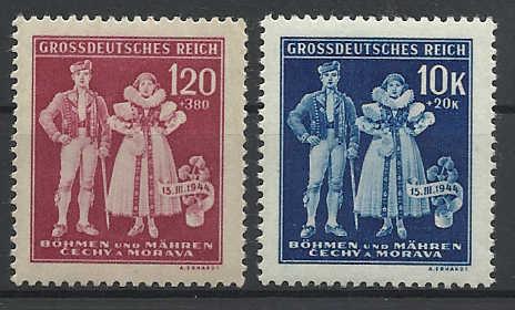 Böhmen und Mähren Bahmen10