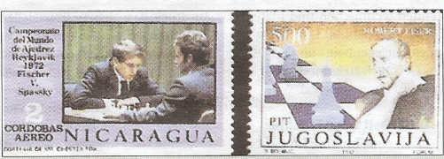 Schach - das königliche Spiel / Briefmarken Fische10