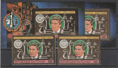 Schach - das königliche Spiel / Briefmarken Fische13