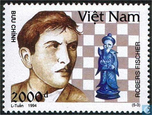 Schach - das königliche Spiel / Briefmarken Fische14