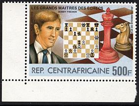 Schach - das königliche Spiel / Briefmarken Fische17