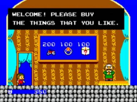 [Master System] Alex Kidd in Miracle World 1010