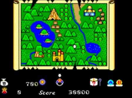 [Master System] Alex Kidd in Miracle World 110