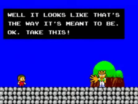 [Master System] Alex Kidd in Miracle World 610
