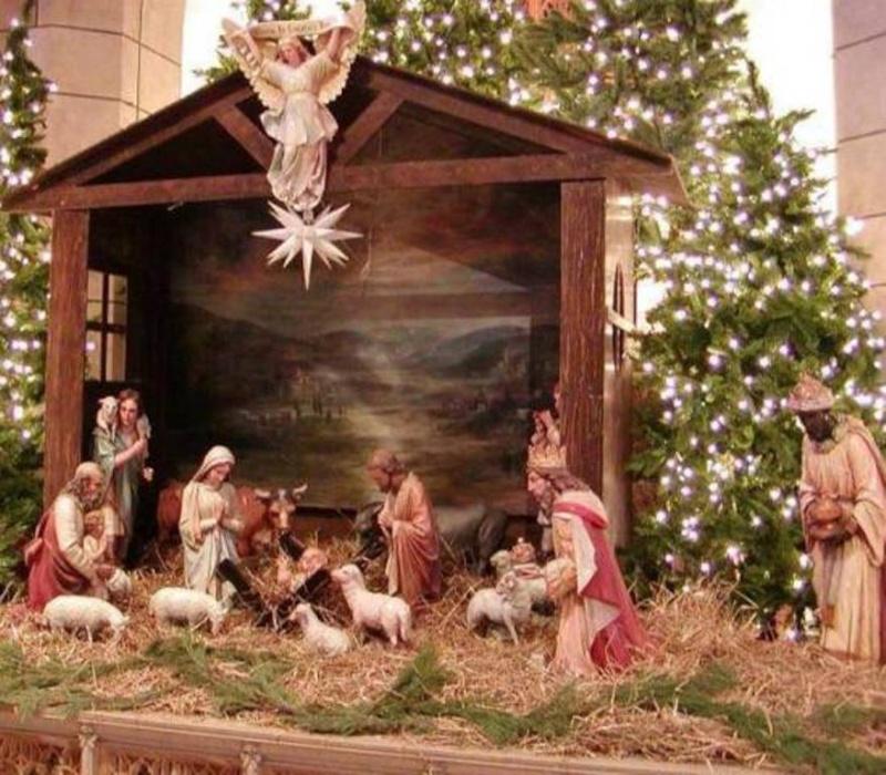 Saint Noël à tous! Creche11