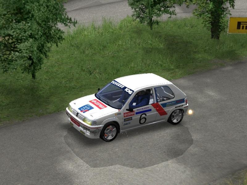 Skin Sergio Vallejo Peugeot 106 1995 Richar17