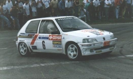 Skin Sergio Vallejo Peugeot 106 1995 Vallej10