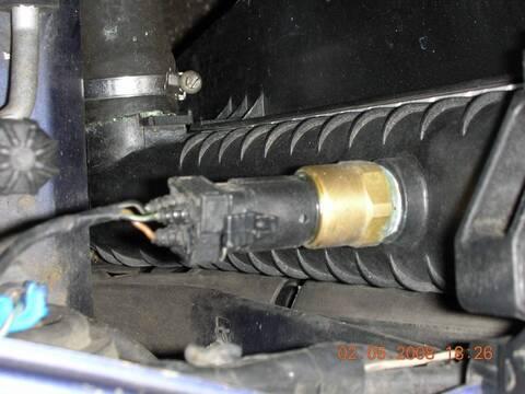 Boucher Ventilateur Interrupteur température Interrupteur Refroidisseur Ventilateur BMW