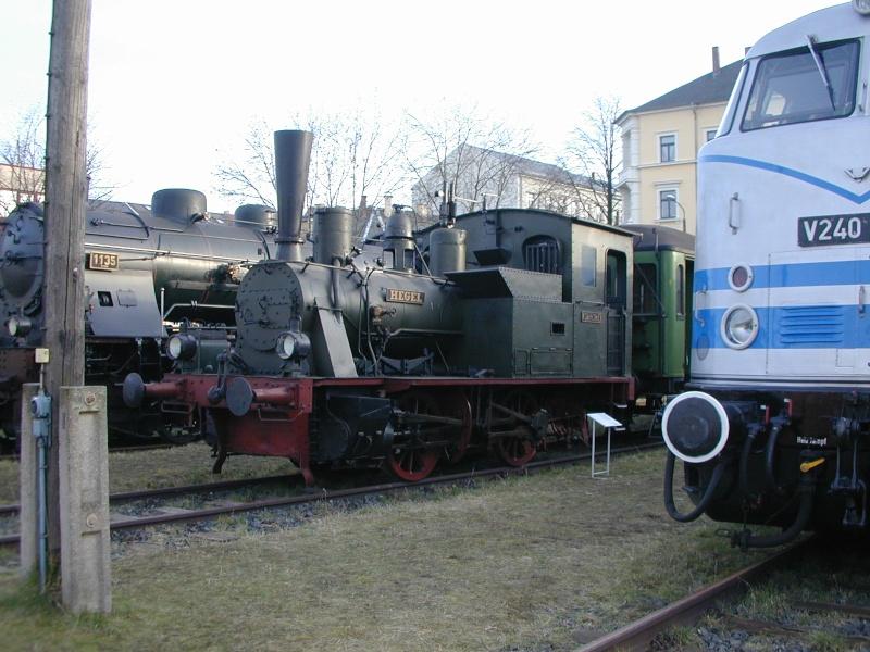 """Die sä. VII T (sprich: Sieben T ) - Lok 1431 """"Hegel"""", spätere 98 7056 Dscn0050"""