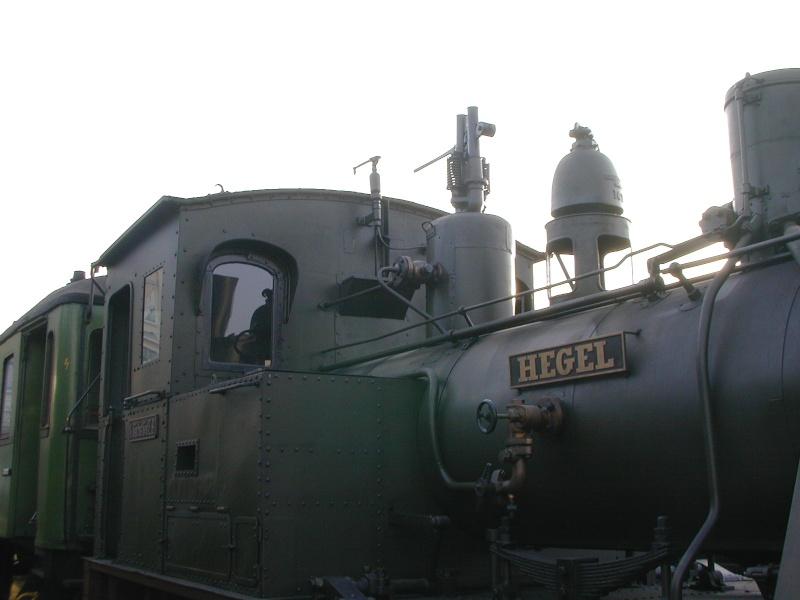 """Die sä. VII T (sprich: Sieben T ) - Lok 1431 """"Hegel"""", spätere 98 7056 Dscn0110"""