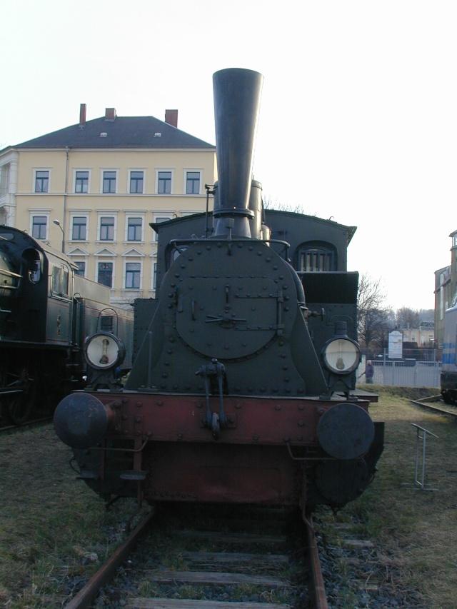 """Die sä. VII T (sprich: Sieben T ) - Lok 1431 """"Hegel"""", spätere 98 7056 Dscn0113"""
