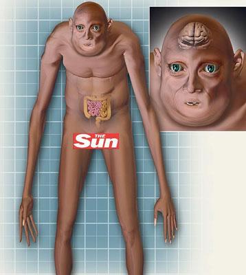 L'être humain du futur  Hommef11