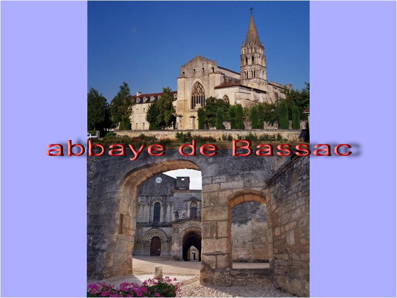 visite : 16 - Bassac Abbaye - gratuit Bassac10