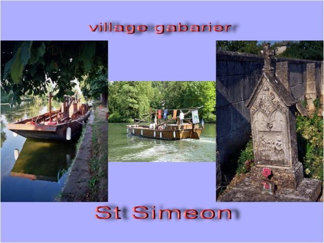 visite : 16 - St Simon, village + maison des gabariers et gabare XVIII - payant Simeon10