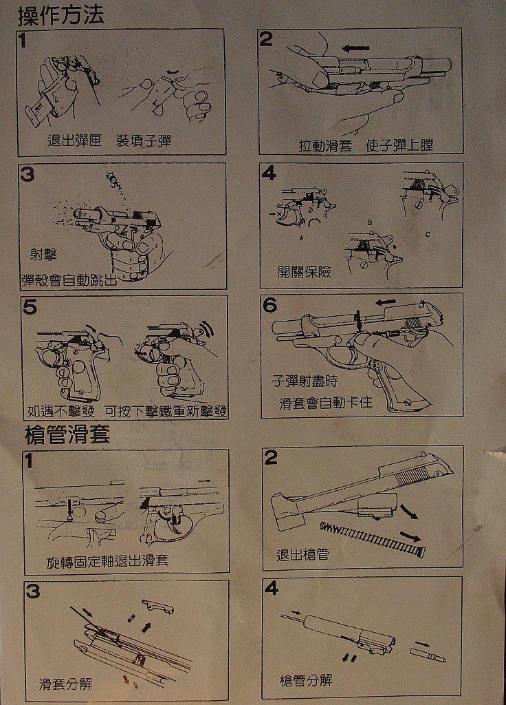 Wa Shan Beretta M84 manual 93-man10