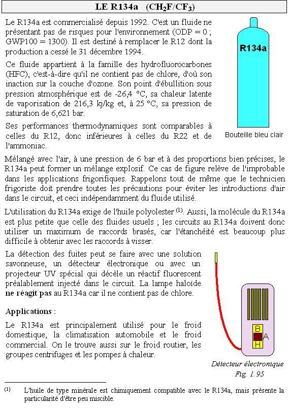 le fluide frigorigène R134a Lbf_m110