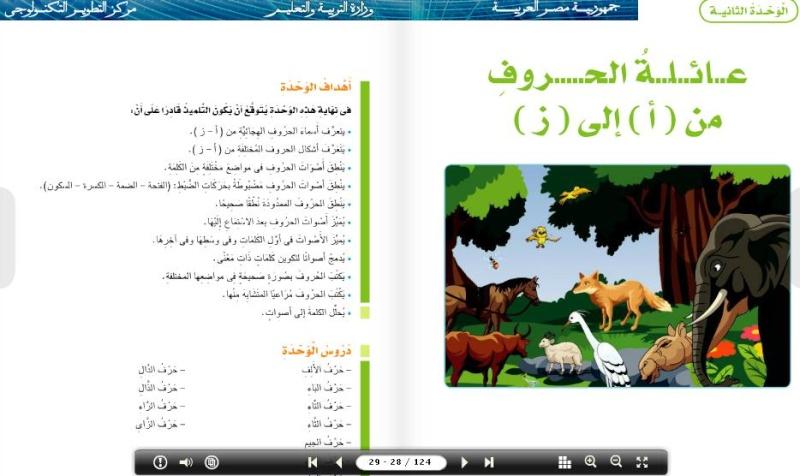 حمل نسختك من الكتب الالكترونية للصف الاول الابتدائى Uoo_1_10